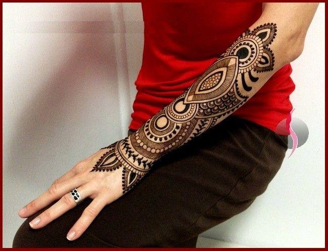 Best Indian Arabic Henna Mehndi Design For Hand