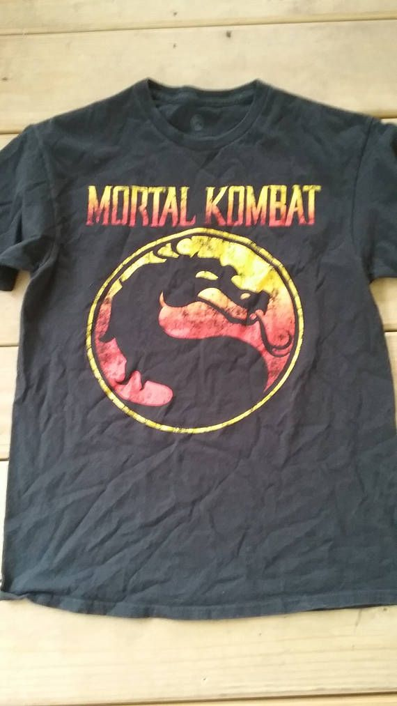 Hey, I found this really awesome Etsy listing at https://www.etsy.com/listing/526673346/mortal-kombat-fighting-arcade-game-t