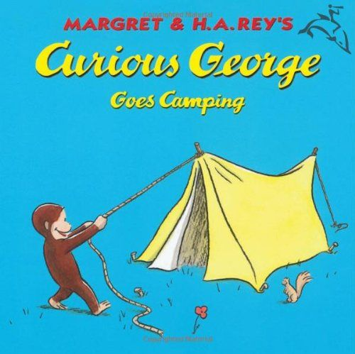 Bestseller Books Online Curious George Goes Camping Margret Rey, H. A. Rey $3.95
