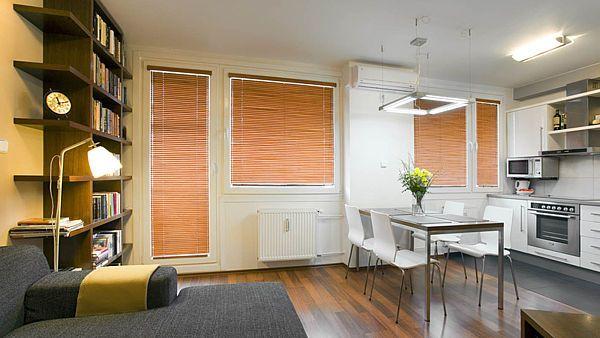 Z klasického bytu 3+1 oáza mezi panely