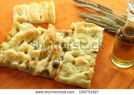 different types of italian focaccia by rossella, via Shutterstock