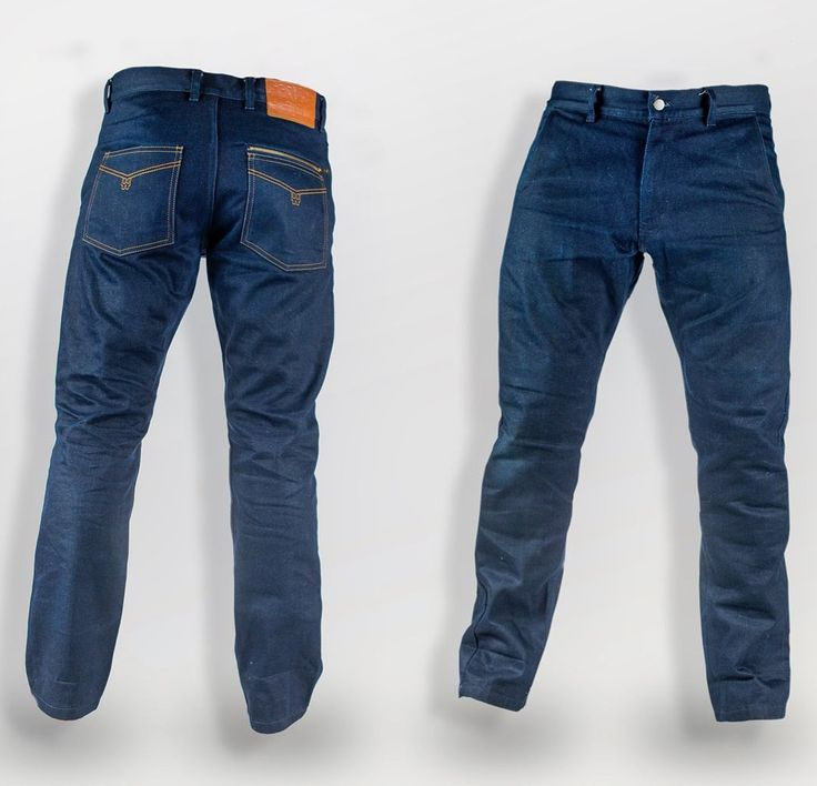 Crave Worlds strongest motorcycle denim Skull trousers