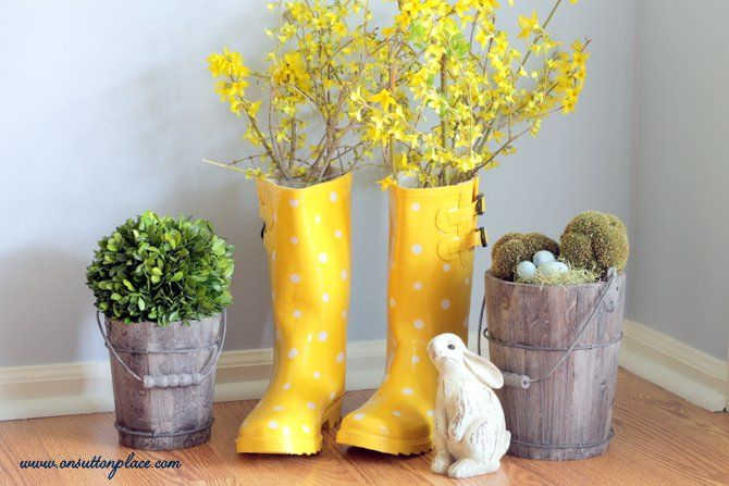 Easy Rain Boot Vase or Planter#/1243324/easy-rain-boot-vase-or-planter?&_suid=1365094474926037372313179823885