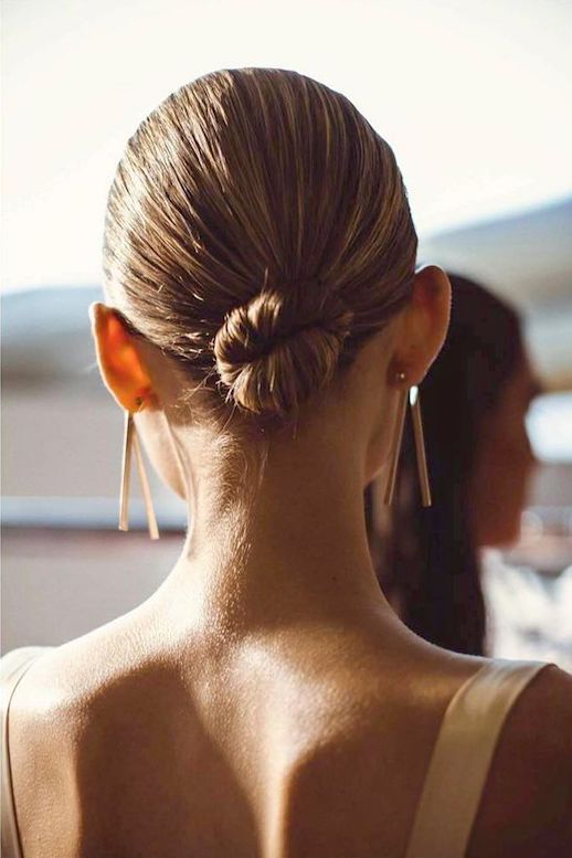 The Perfect Hairstyle For Showing Off Statement Earrings