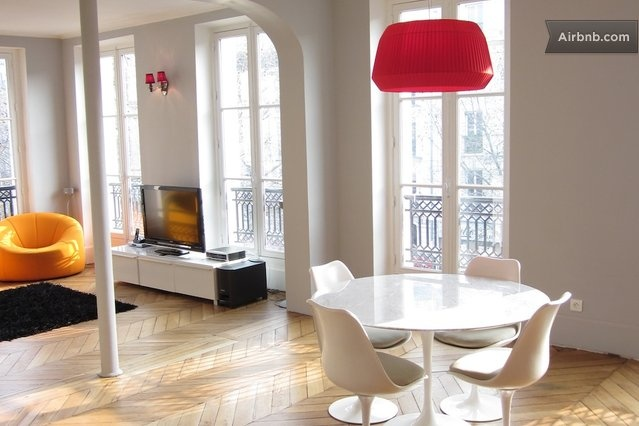 GREAT ARCHITECT APARTMENT for 6 in Paris from $506 per night: Paris Lodges, Lodges Options, Paris Vacations