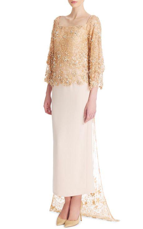 Madiyah Al Sharqi Pre-Fall 2015 Trunkshow Look 6 on Moda Operandi