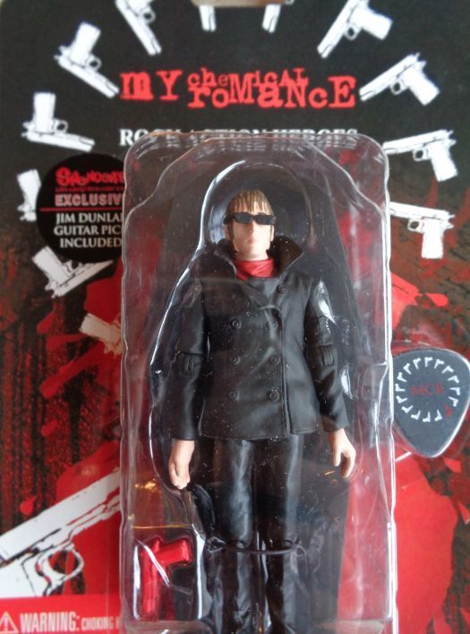 SEG Toys My Chemical Romance Mikey Way Action Figure Spencer s Dunlop GAT pick