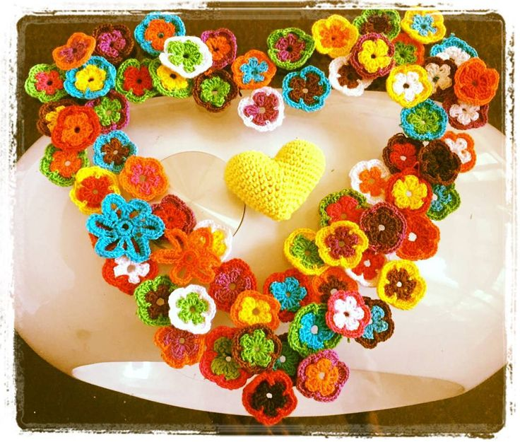 ....::::Bienvenida Primavera::::.... #crochet #flores #primavera #lovecrochet #amotejer #amigurumi #chilegram #tejidoamano #hechoamano