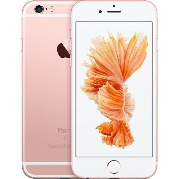 Apple iPhone 6s 16GB (Rose Gold) ❤ liked on Polyvore featuring accessories, phone, electronics and tech