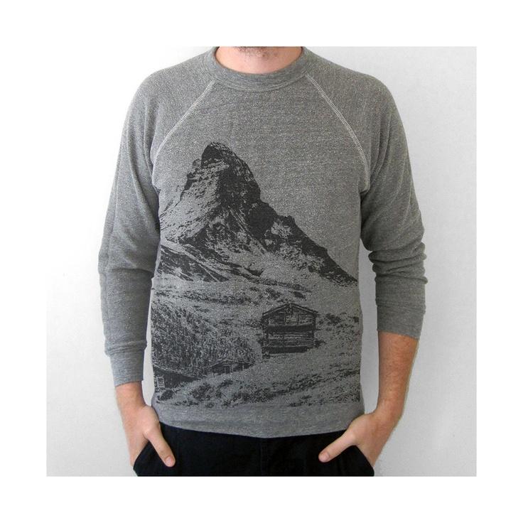 photographic sweatshirt: Sweaters, Sweater Ecofriendly, Men Sweatshirts, Eco Friendly, Cooper Mens, Mountain Homes, Men S Sweatshirts Hoodies