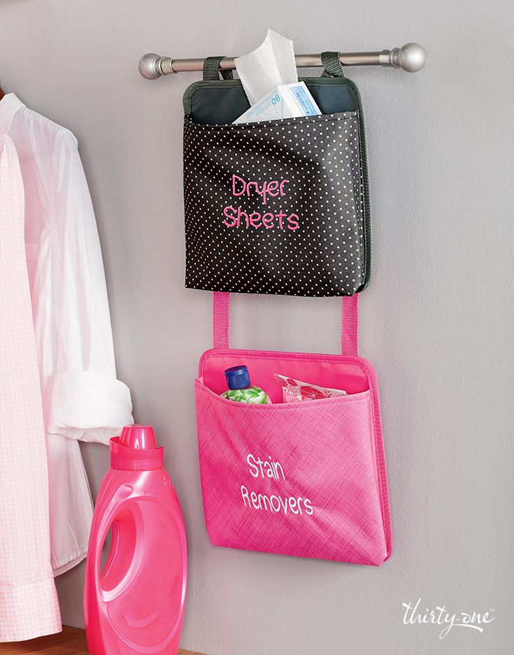 Keep laundry essentials close by and say see-ya to stains in a snap - with Oh-Snap Pockets!