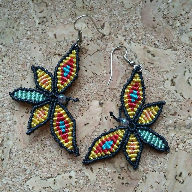 Farfalle in macrame