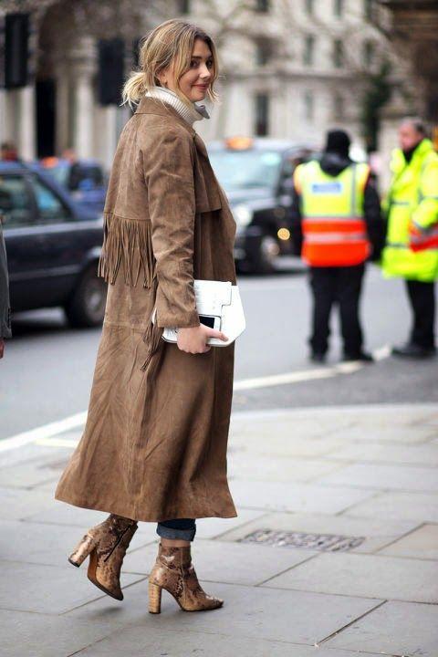 Razzle Dazzle Rose-Street Style-London Fashion Week F/W '15