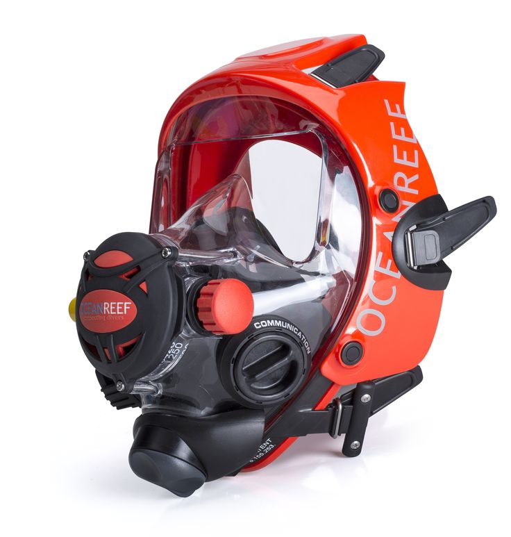 Ocean Reef Space Extender Diving Mask. Full face dive mask and you can get communication units if you want! #oceanreef #oceanreefgroup #idm #integrateddivemask #scubamask