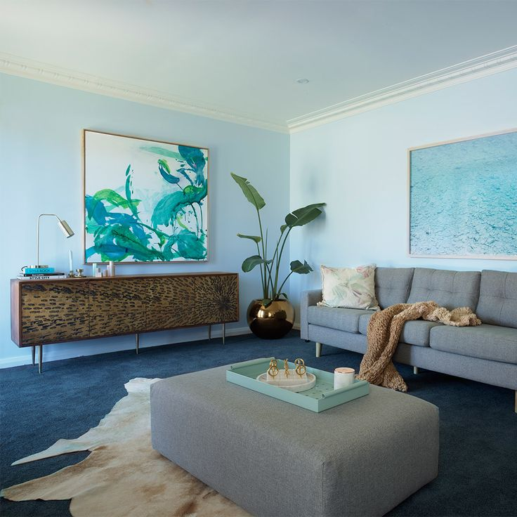 eco+ carpet | Godfrey Hirst | The Home Team | Get this look with eco+ carpet Dream View in