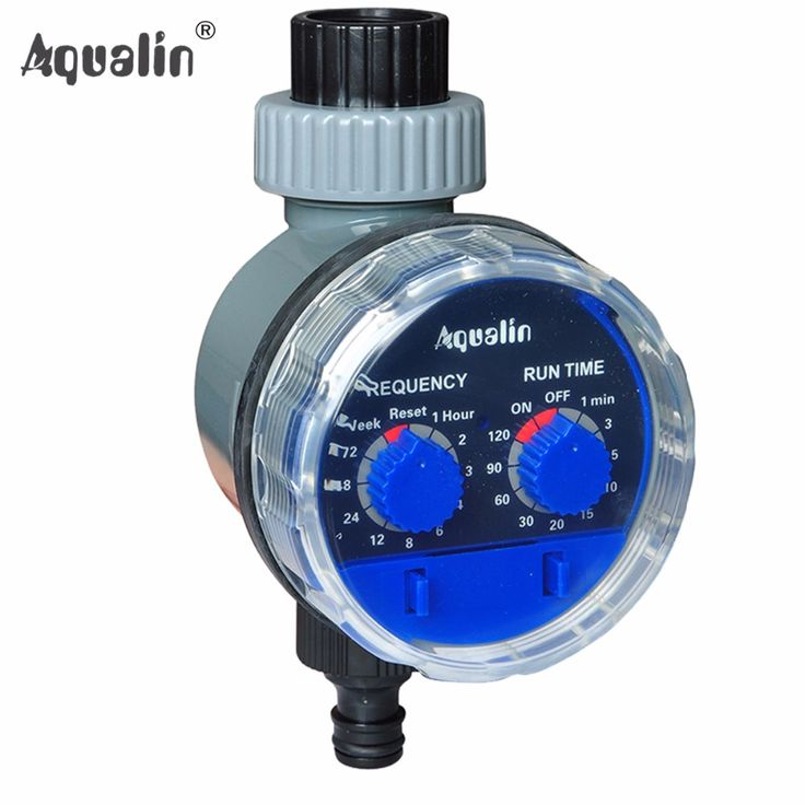 Ball Valve Automatic Electronic Water Timer Home Garden Irrigation Controller  System #21025
