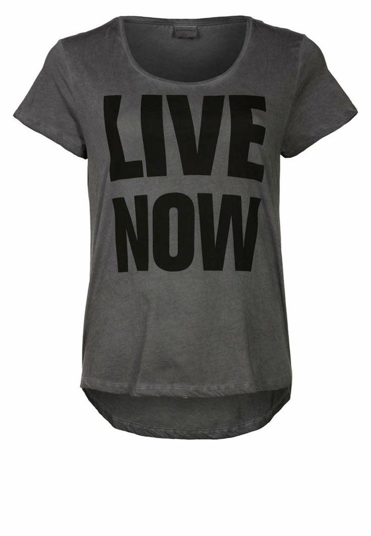 Junarose - TRIPLE X - T-shirt print - Zwart
