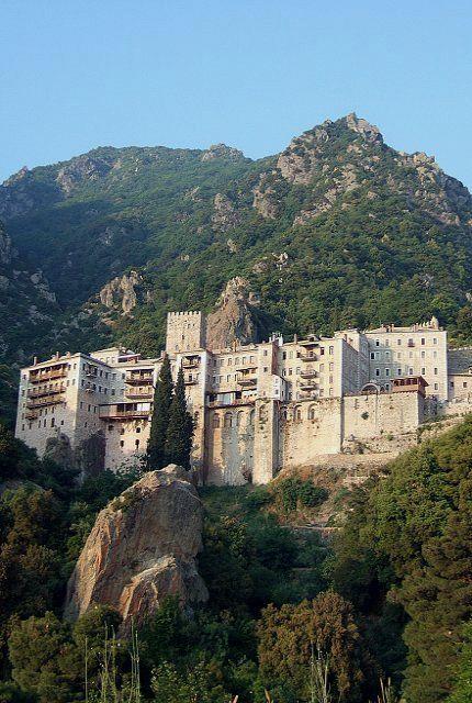 Monastery of Agios Pavlos (Saint Paul) _ 10th century, Mount Athos, Greece