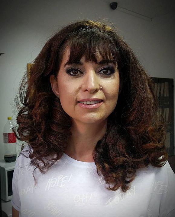 INTERLAN Christmas Party makeup checked  for sexy black dress   Model: Angela Stanescu  Makeup: Alina Anton  cc: Asociația Interlan #interlan #office #christmas #party