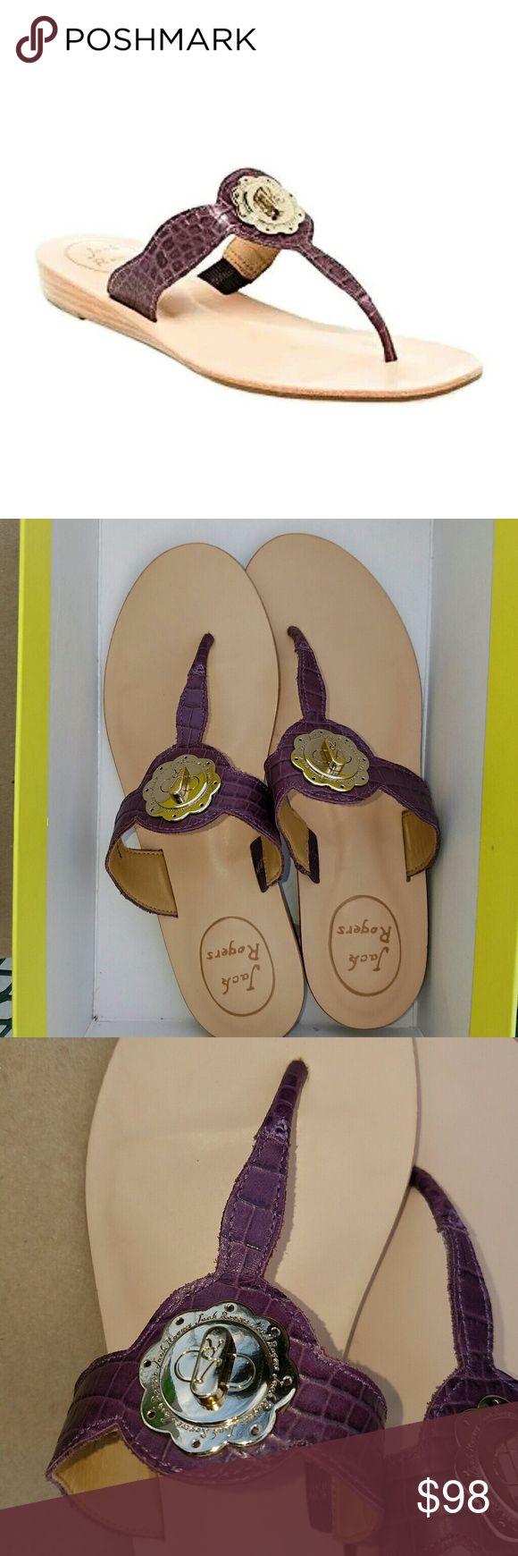 Jack Rogers Purple Sandals Jack Rogers Purple Sandals size 6.5 Jack Rogers Shoes Sandals