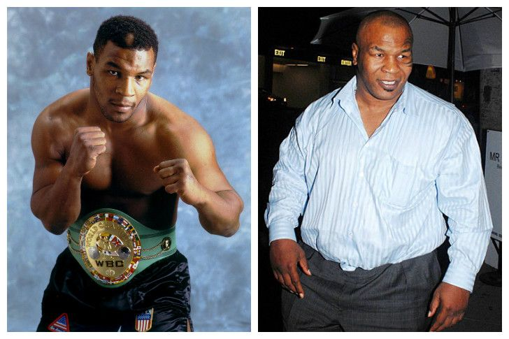 mike tyson weight gain, mike tyson celebrity diet, mike tyson diet