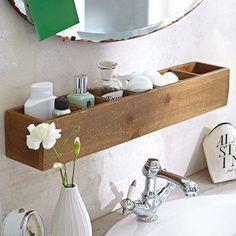 Gain de place et tendance naturelle: cette étagère à ustensiles marque avec …