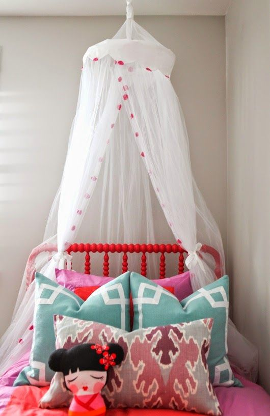 6th Street Design School | Kirsten Krason Interiors : Pink and Purple Girl's Room Reveal