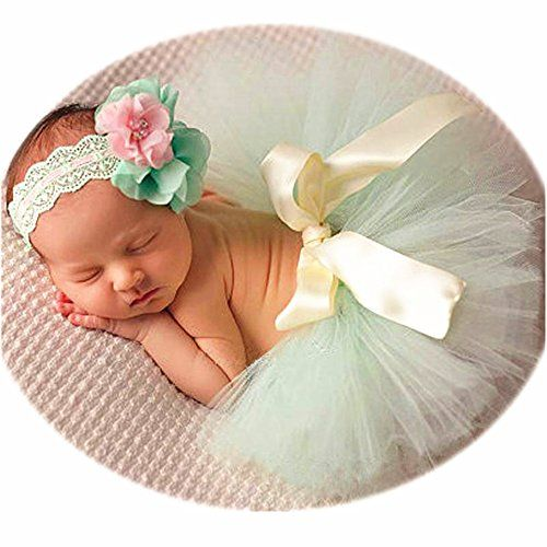 Baby Tutu Skirt and Headband Set Infant Photography Props//Baby Girl Photo Props Newborn Girl Photography Props Outfits