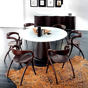 Domitalia Star Dining Chair available in light cherry, walnut or wenge http://www.ohmodern.com/brands/domitalia/domitalia-star-chair.html