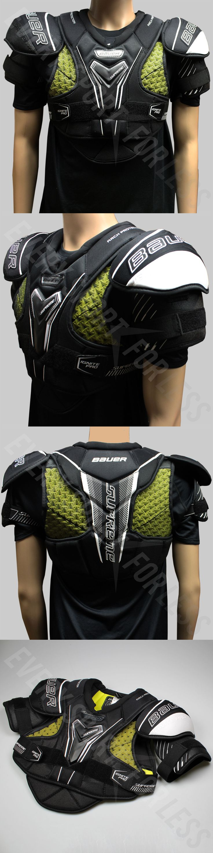 Pads and Guards 20856: Bauer Supreme Ignite Pro Hockey Jr Shoulder Pad - Special Make Up(New)Lists@$99 -> BUY IT NOW ONLY: $89.99 on eBay!