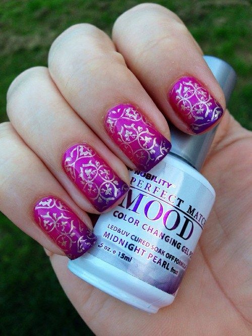 LECHAT Perfect Match Mood Gel Polish - 25 Best Color Changing Nail Designs Images On Pinterest Nail