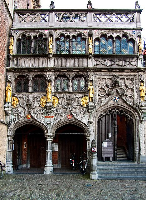Basilica of the Holy Blood - Bruges, Belgium Went to Church here when I was little!