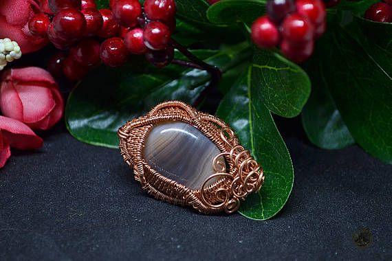 A brooch Stone Flower