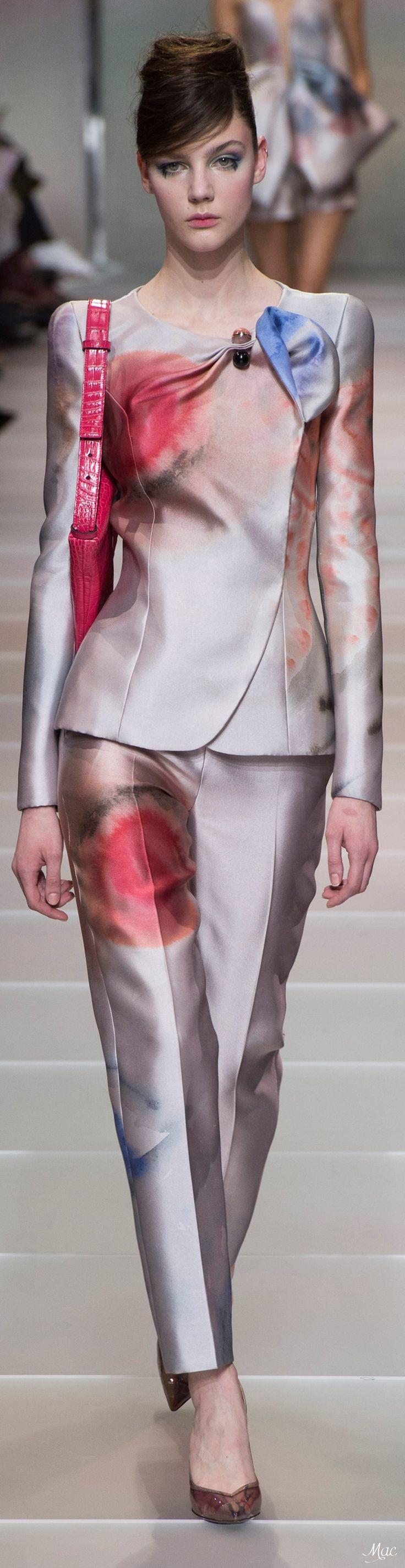 Spring 2018 Haute Couture Armani Privé