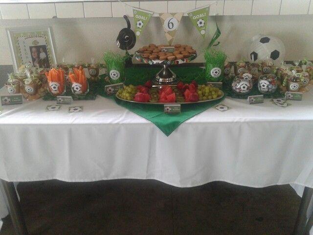 Candy table. Aaron 6 años.