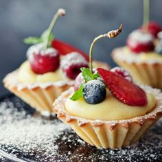 Brittle cupcakes with cream and fruit - this is a recipe that has been translated into English from Polish.  It had metric measurements and I will need to make small adjustments to make into GF ... but have been looking for a shortbread - cream filled tart for sometime and this is the ONE!!