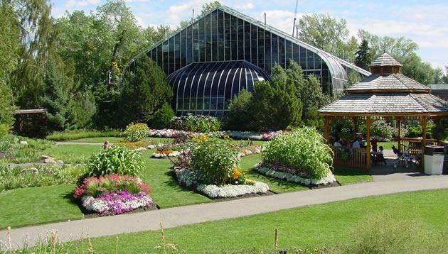 AAS Display Garden Calgary Zoo Botanical Garden, Calgary