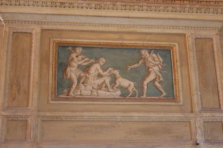 Interno palazzo te, Mantova