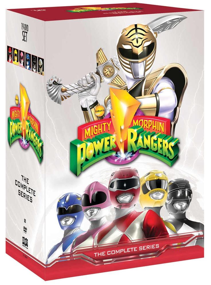 Mighty Morphin Power Rangers DVD Set