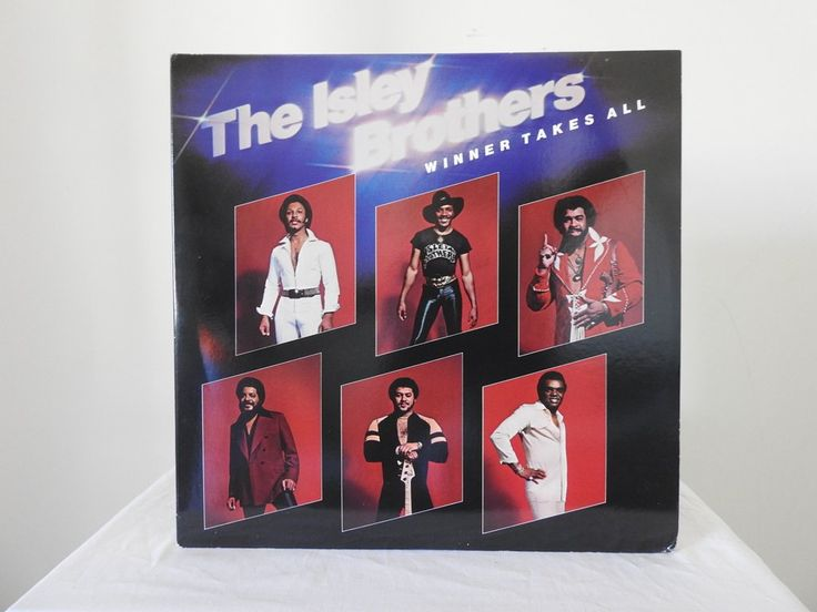 The Isley Brothers ‎– Winner Takes All