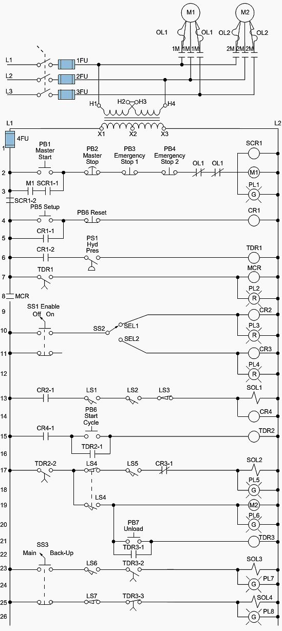 Electromechanical Relay Diagram