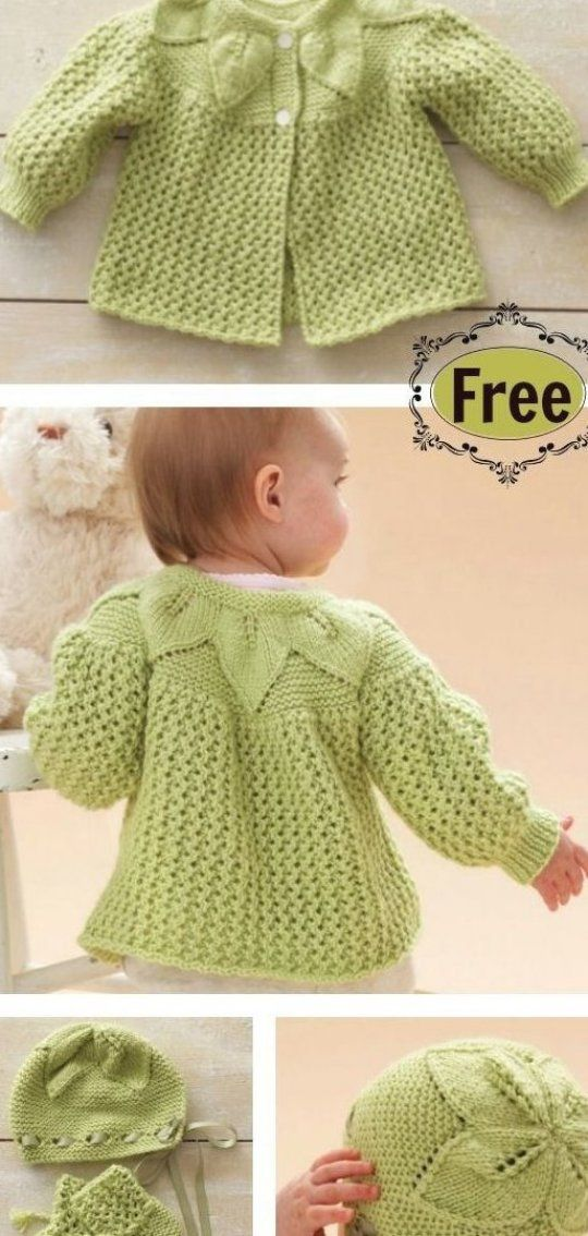 Knitting Pattern For Baby And Child Sweater Hat And Blanket