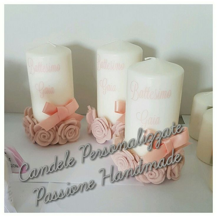 Amato 25 best Candele Personalizzate Passione Handmade images on  EF05