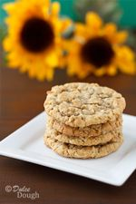 Sunflower seeds add a nutty flavor to these oatmeal cookies.