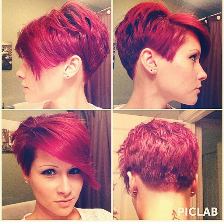 Kurzhaarfrisuren in Rot für temperamentvolle Frauen! - Neue Frisur
