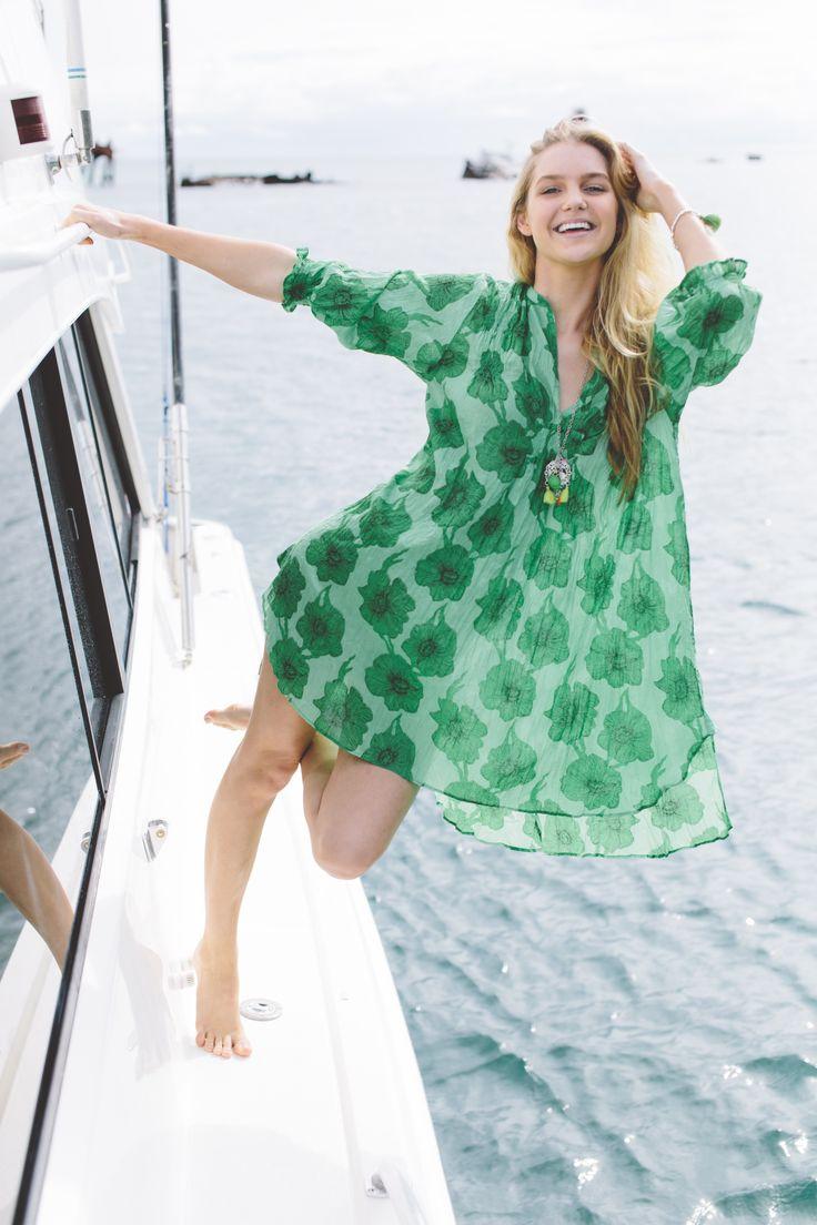 Ruby yaya liberty dress tropicana emerald