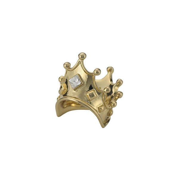 Princess Crown Ring, Disney Couture ❤ liked on Polyvore