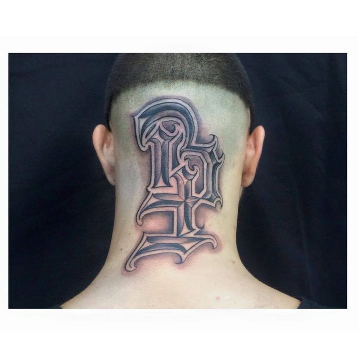 Tatuajes En La Nuca Para Hombres