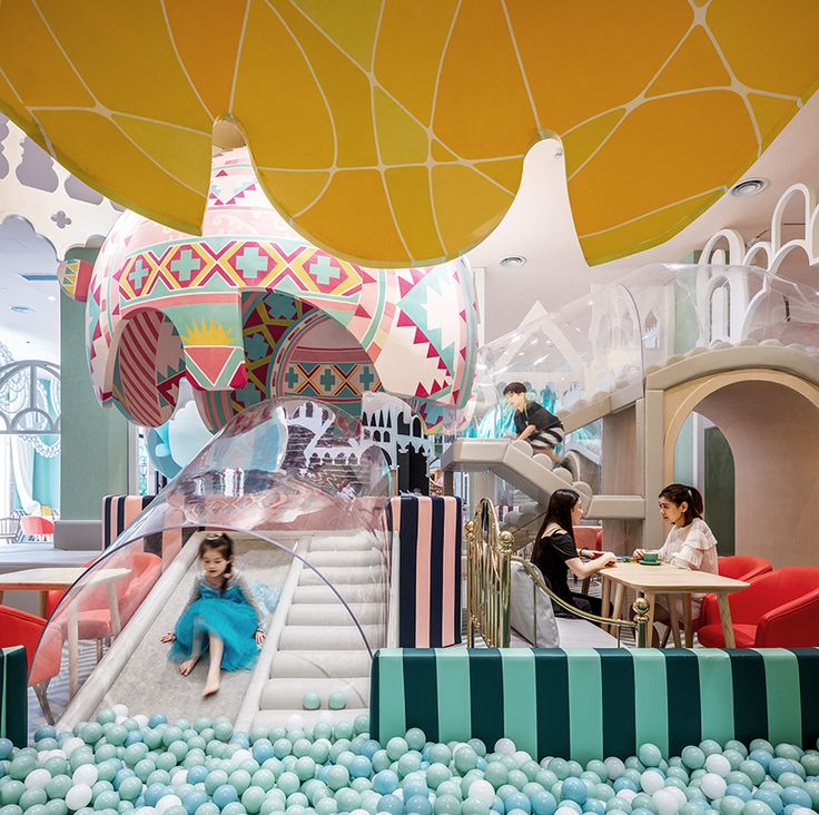 Fantastic indoor park will bring out your inner child - Curbedclockmenumore-arrownoyes : Neobio Family Park is awash in pastels and whimsy