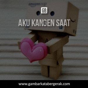 Gambar kata cinta kangen bergerak saat bilang i love you